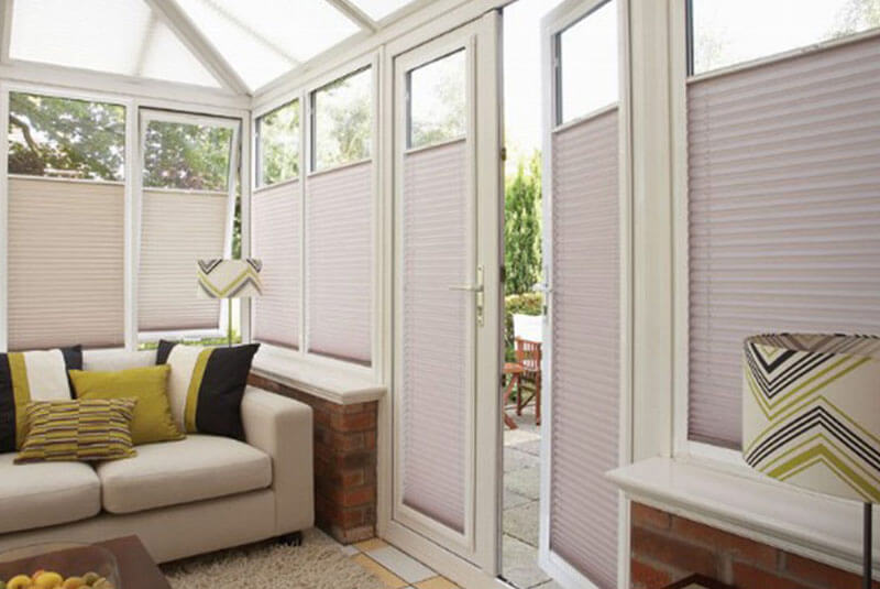 perfect fit consevatory blinds