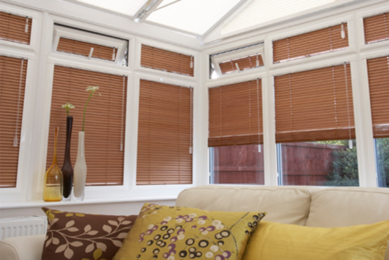 conservatory blinds inside